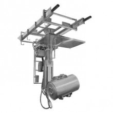Custom drum barrel container manipulator