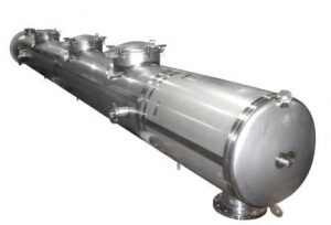 horizontal reactor vessel