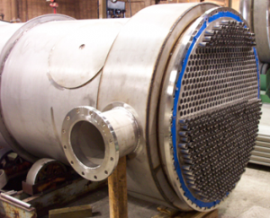 Heat exchanger tube sheet fabrication