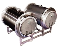 Transtore stainless steel wine barrels 30 gallon 60 gallon